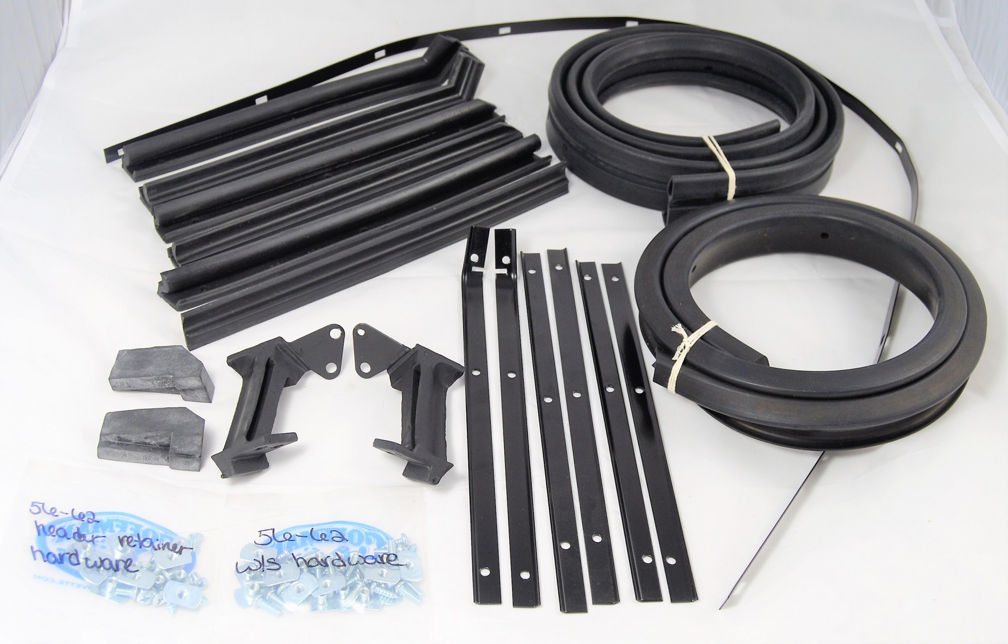 1959-1960  COMPLETE WEATHER STRIP KIT (CONVERTIBLE TOP)